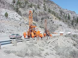 In situ extraction, source: California Department of Transportation.