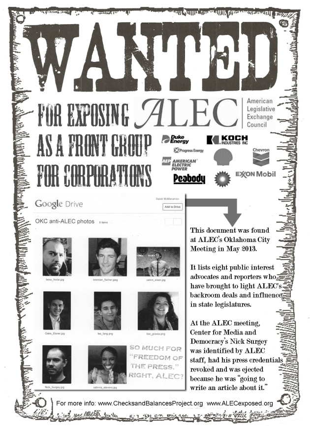 ALEC Most Wanted